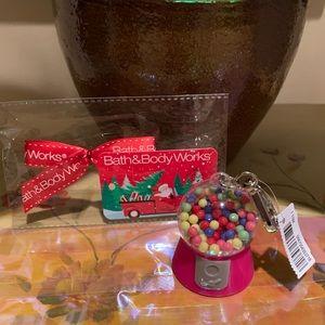 Bath & Body Works GumBall PocketBac Holder W/Gift